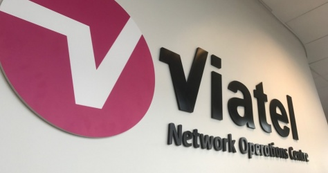 Internal SIgnage for Viatel
