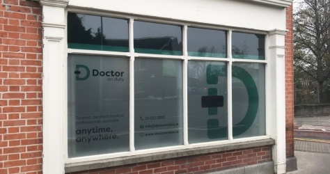 window vinyl for exterior
