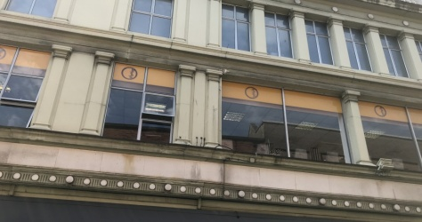 window vinyl – view from exterior – Iconic Health Clubs