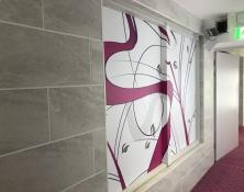 Interior signs for Hotel, Hampton Hotel by Donridge