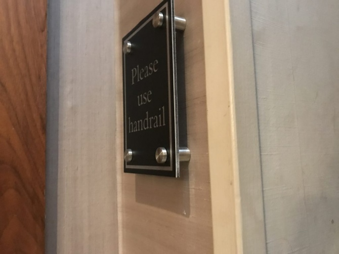 Interior signs for Hotel, Hampton Hotel by Donridge