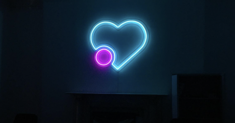 Neon Light Sign
