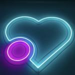 neon lighting sign